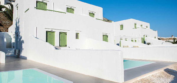 Accommodation Xerolithia Land in Sifnos